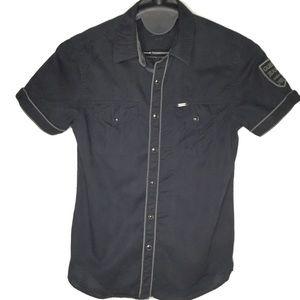 Guess Button Down Short Sleeve Shirt Size XS
